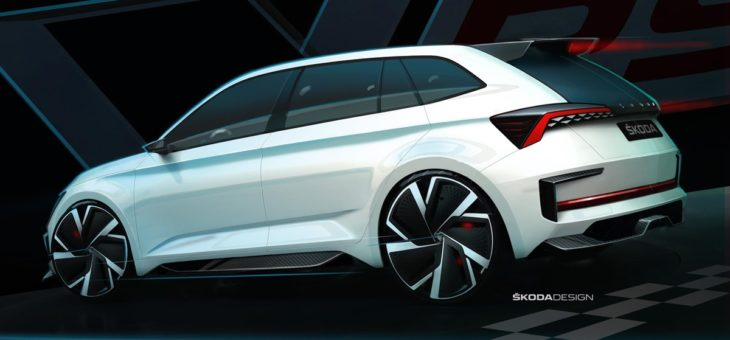 Skoda Vision RS Exposed Sketches at VISION RS Sketch Outdoor 02 730x340