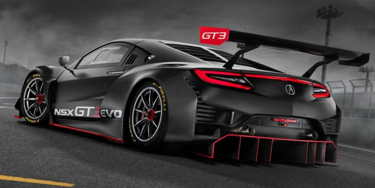 Completely improved: 2019 Acura NSX GT3 Evo