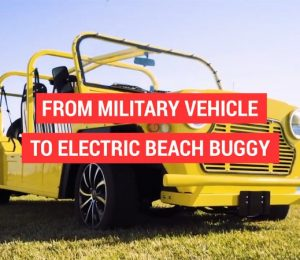 It was almost a military car for the electric shoreline