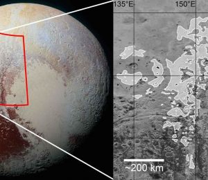 Roof and fluted terrains on Pluto as evidence of the ancient glaciers