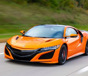 2019 Acura NSX Review Track