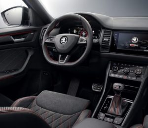 2019 Skoda Kodiaq VRS interior is revealed