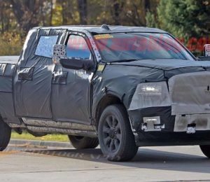 2020 Ram 2500 and 3500 spy shots will update the style of the upgrade