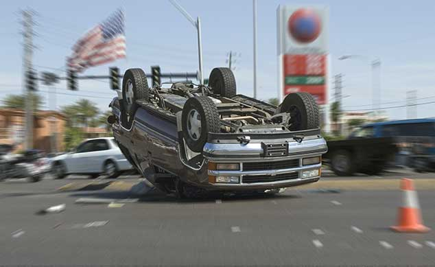 A car accident in Las Vegas is a car accident in car accident