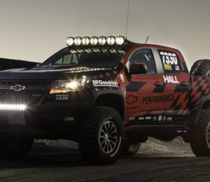 Chevy Colorado ZR2 takes Chevy performance off-road parts
