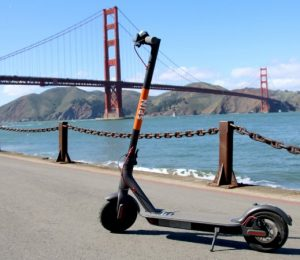 Ford acquires SF based dockless scooter business spins