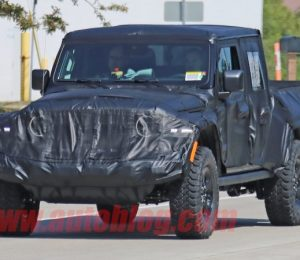 Jeep pickup truck scramble: Gladiator, not Scrambler
