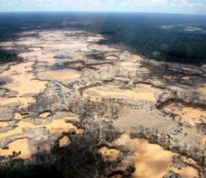 Rain to destroy gold mining hits all the time high Peru – ScienceDaily