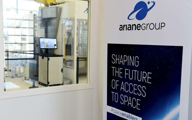 The ArianeGroup said it was a tough competition from US space companies