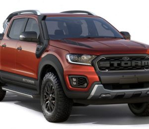 The Ford Ranger Storm Concept was revealed in Brazil