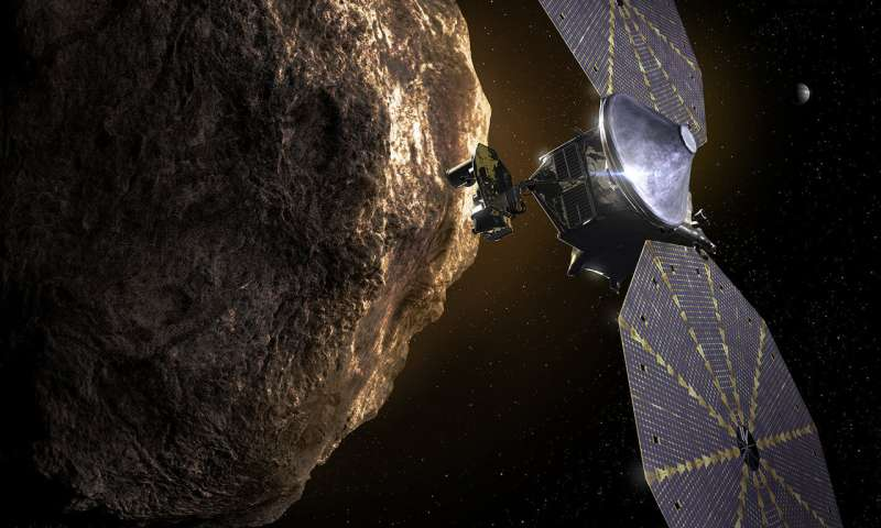 The first cosmic Trojan asteroid on the ship - NASA Ralf's next adventure