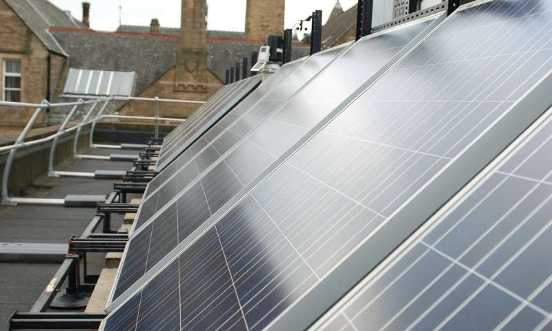 Solar Energy - the largest research date finds 25 percent power loss in the UK