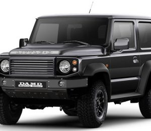 The small D body set comes from Suzuki Jimny's defensive