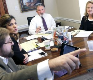 Shaheen Law Firm convened a working environment enviroment | Local