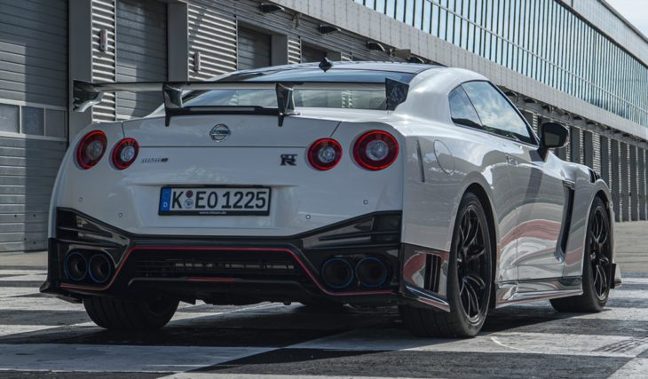 MY20 GT R NISMO Germany 1 Source 730x427 at Nissan GT R Still hot, or outdated and funny?
