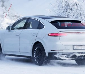 The Porsche Cayenne Coupe GT is an ultra high quality model spy
