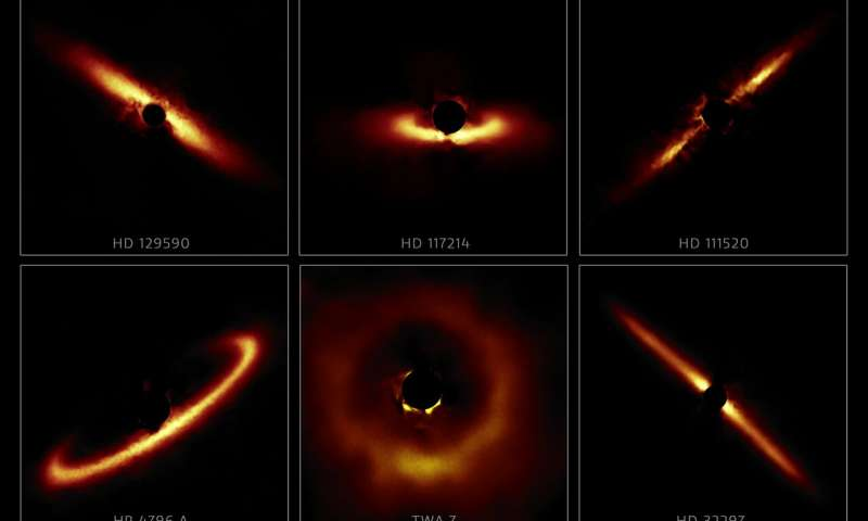 Rogue Gallery of Dusty Star Systems Displays Exoplanet Nurseries